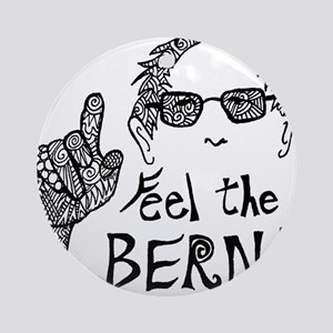 Feel the BERN! Round Ornament