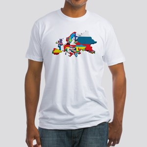 Flags map of Europe T-Shirt