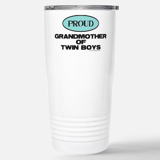 Grandmother of Twin Boys - Mugs