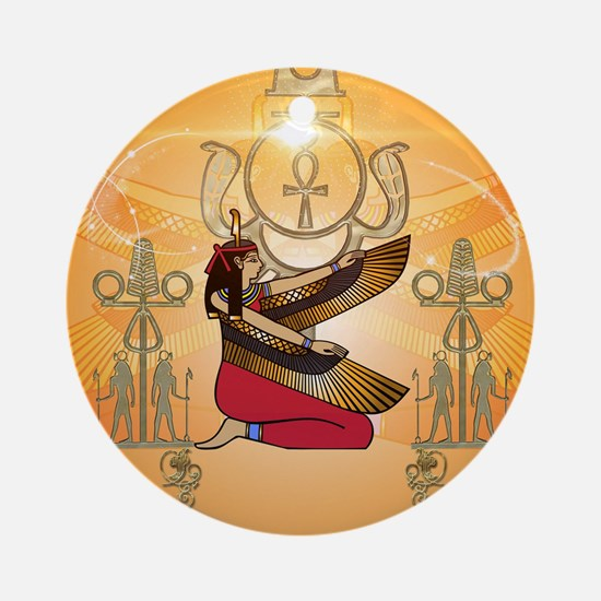 Isis Round Ornament