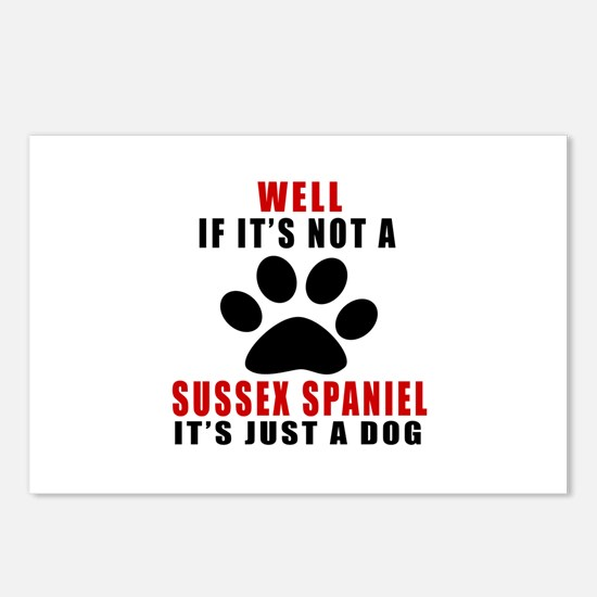 If It Is Not Sussex Spani Postcards (Package of 8)