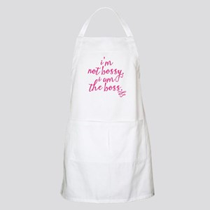 IM NOT BOSSY, I AM THE BOSS Apron