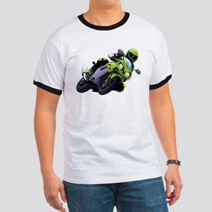 Motorcycle racer sliding T-Shirt