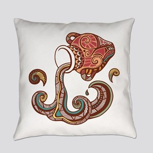 Aquarius zodiac sign Everyday Pillow