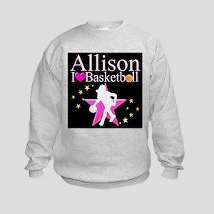 BASKETBALL PLAYER Kids Sweatshirt