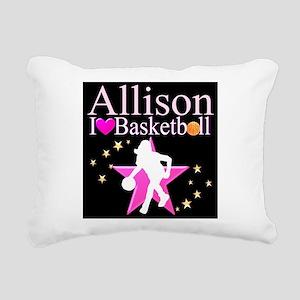 BASKETBALL PLAYER Rectangular Canvas Pillow
