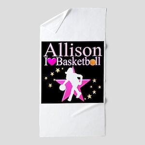BASKETBALL PLAYER Beach Towel