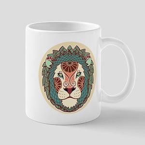 Leo zodiac sign Mugs