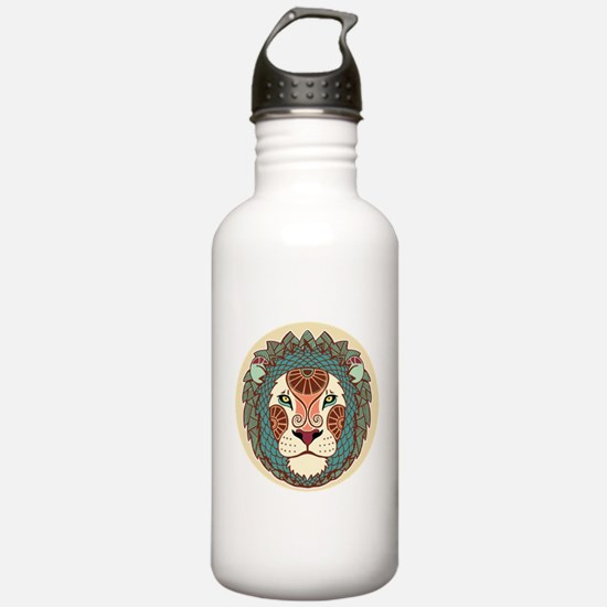 Leo zodiac sign Water Bottle