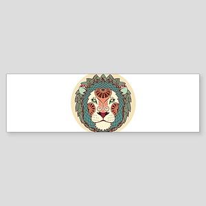 Leo zodiac sign Bumper Sticker