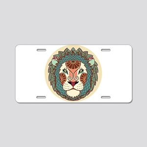 Leo zodiac sign Aluminum License Plate