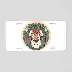 Leo zodiac sign Aluminum License Plate