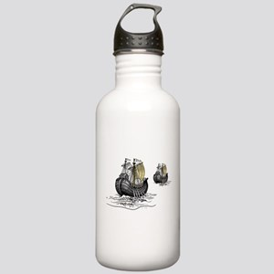 Antique sailing ship a Stainless Water Bottle 1.0L