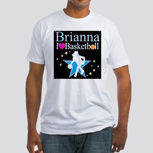 BASKETBALL PLAYER Fitted T-Shirt