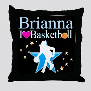 BASKETBALL PLAYER Throw Pillow
