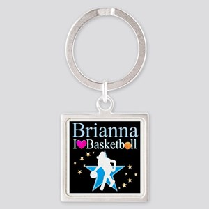 BASKETBALL PLAYER Square Keychain
