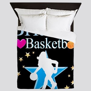BASKETBALL PLAYER Queen Duvet
