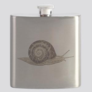 Hand painted animal snail Flask