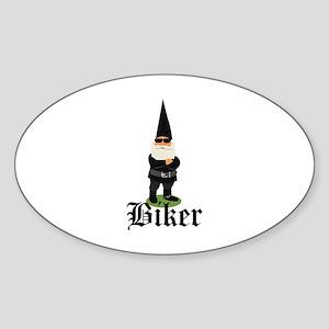 Gnome Biker Sticker
