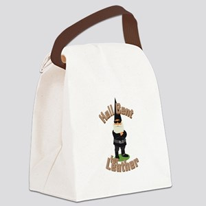 Bent For Leather Canvas Lunch Bag