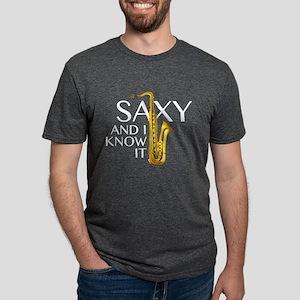 Saxy And I Know It Women's Dark T-Shirt