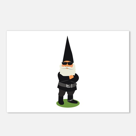 Biker Gnome Postcards (Package of 8)