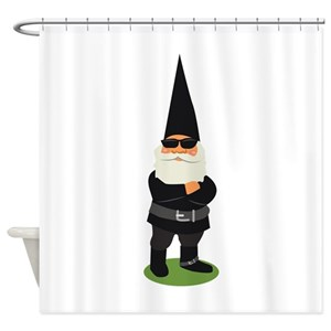 Gnome Shower Curtains