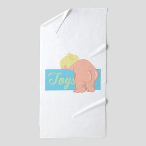 Baby Butt Beach Towel