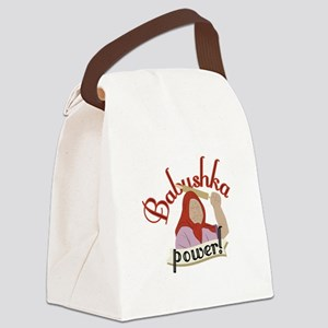 Babushka Power Canvas Lunch Bag