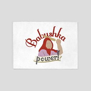 Babushka Power 5'x7'Area Rug