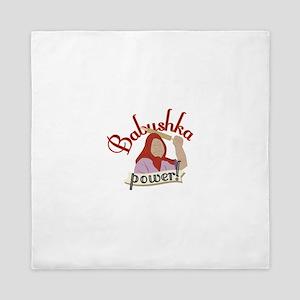 Babushka Power Queen Duvet