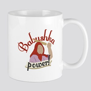 Babushka Power Mugs