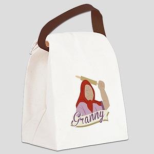 Granny Canvas Lunch Bag