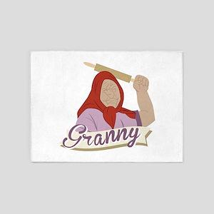 Granny 5'x7'Area Rug