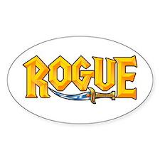 Rogue @ eShirtLabs.Com Oval Sticker