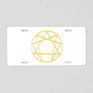 Gurdjieffs Anneagram Aluminum License Plate