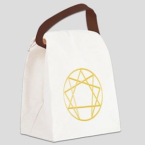 Gurdjieffs Anneagram Canvas Lunch Bag