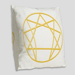 Gurdjieffs Anneagram Burlap Throw Pillow