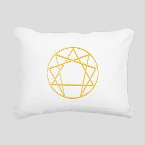 Gurdjieffs Anneagram Rectangular Canvas Pillow