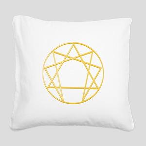 Gurdjieffs Anneagram Square Canvas Pillow