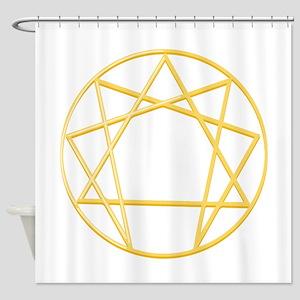 Gurdjieffs Anneagram Shower Curtain