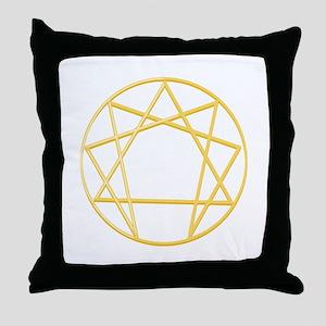 Gurdjieffs Anneagram Throw Pillow
