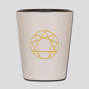 Gurdjieffs Anneagram Shot Glass