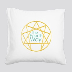 Fourth Way Square Canvas Pillow