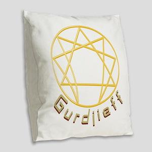 Gurdjieff Burlap Throw Pillow