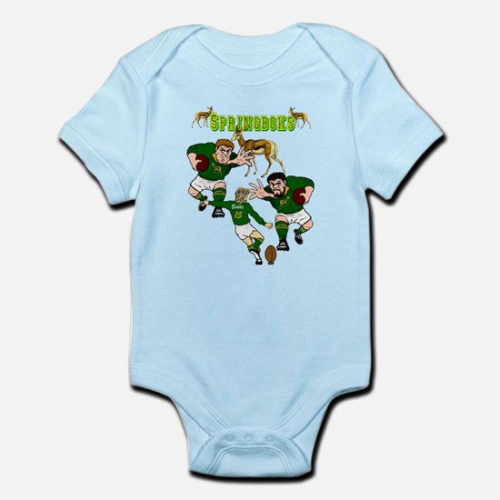 Springboks Rugby Team Infant Bodysuit