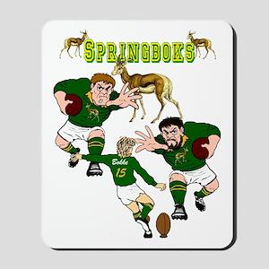 Springboks Rugby Team Mousepad