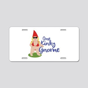Kinky Gnome Aluminum License Plate