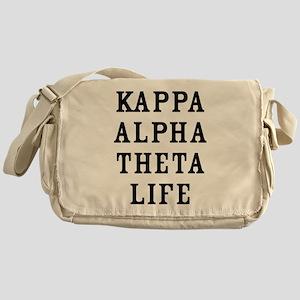 Kappa Alpha Theta Life Messenger Bag