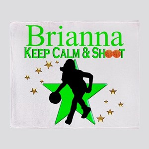 GO BASKETBALL Throw Blanket